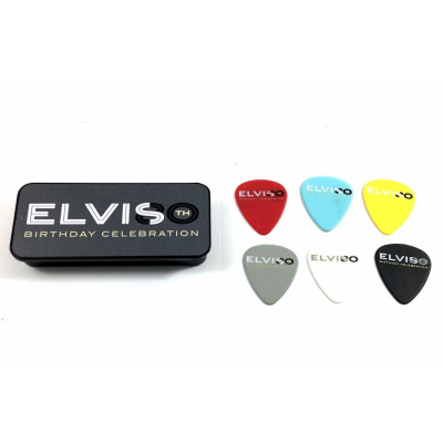 DUNLOP ELVIS PRESLEY EPPT08 80TH BIRTHDAY  6шт