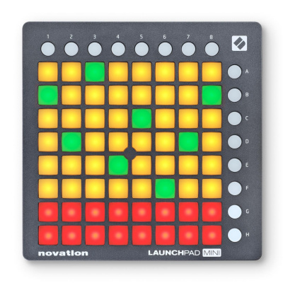 NOVATION LAUNCHPAD MINI MK2 MIDI контроллер